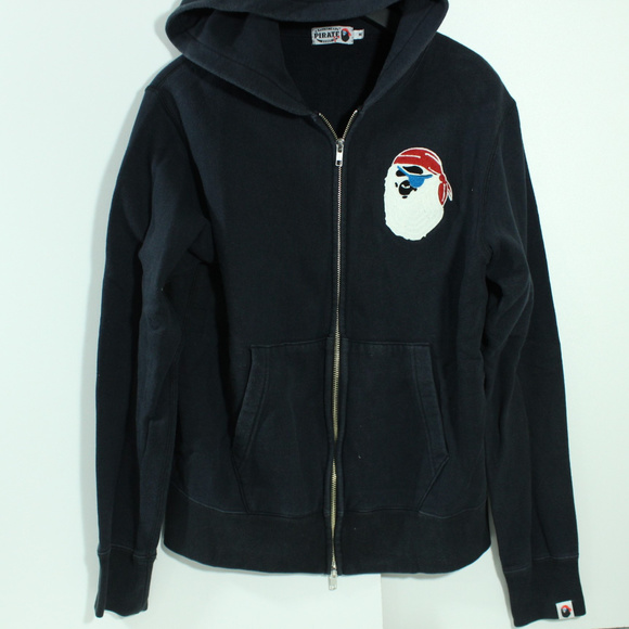 Bape Other - Bathing Ape Bape Pirate Store Black Hoodie Jacket 7f5f0095d